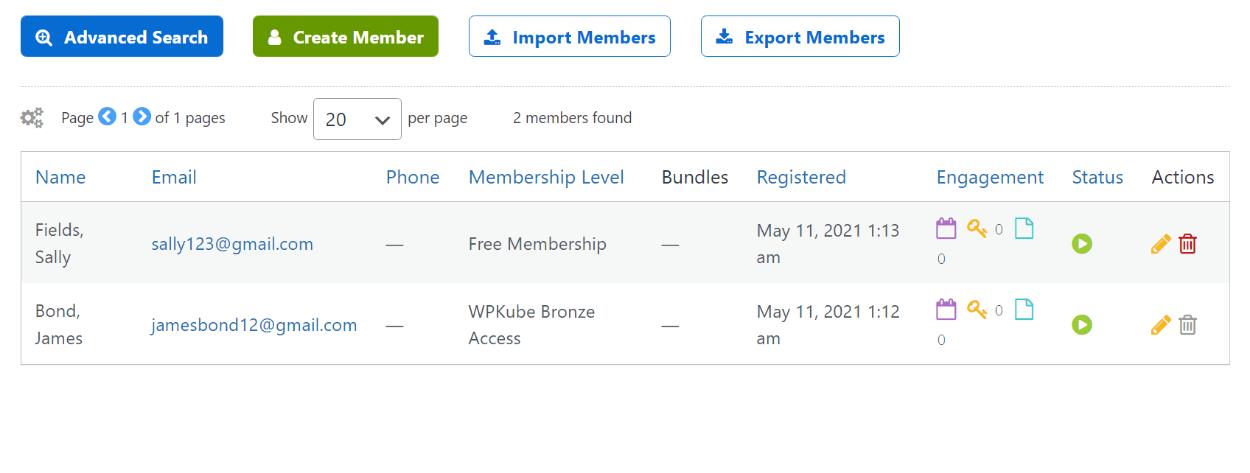 Review of managing Membermouse members