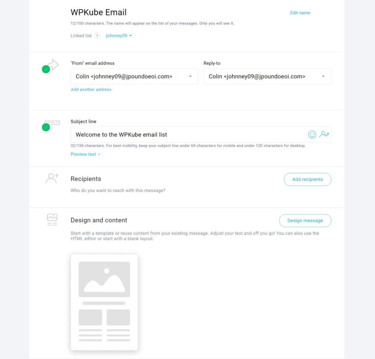 GetResponse email tool