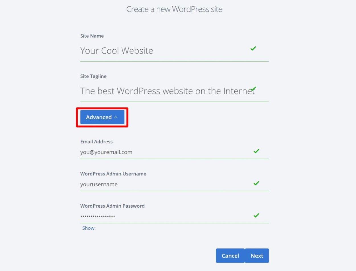 وردپرس را در Bluehost نصب کنید