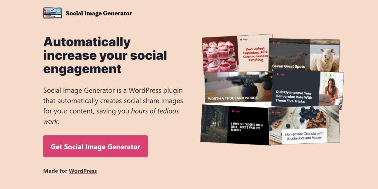 Social Image Gnerator
