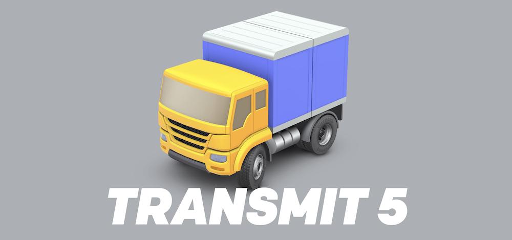 The Transmit website.
