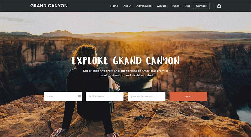 Embark - Travel WordPress theme