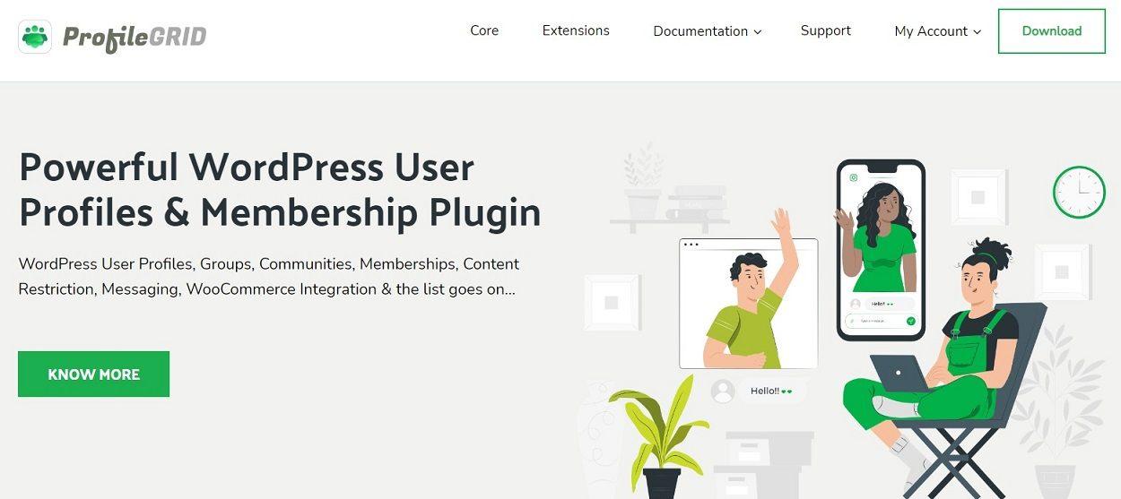 ProfileGrid WordPress membership plugin