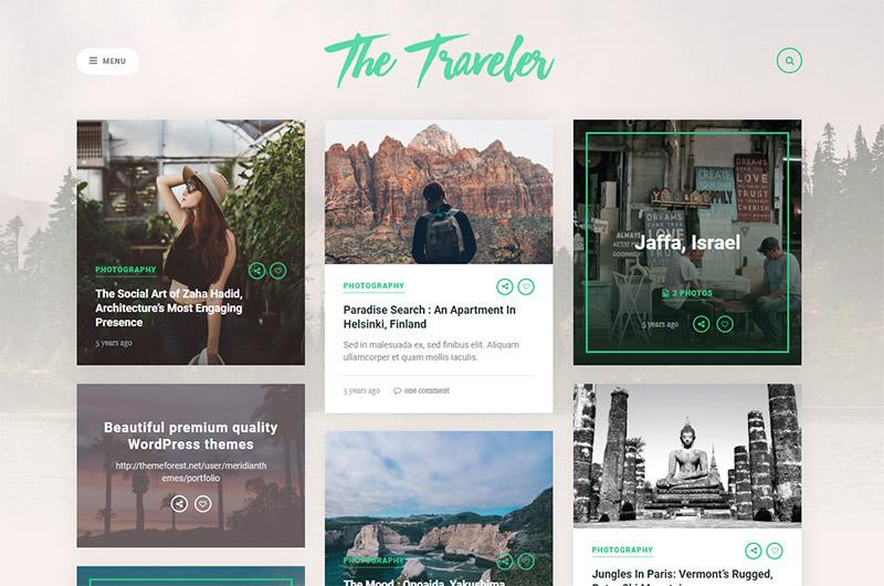 The Traveler - Travel WordPress Theme