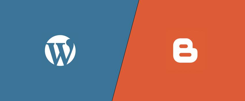 WordPress vs Blogger Detailed Comparison