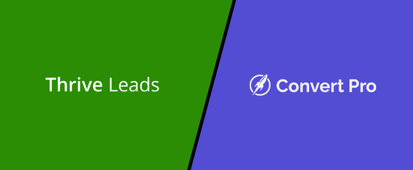 Thrive Leads Vs Convert Pro Comparison: Is It The Best Thrive Leads Alternative?